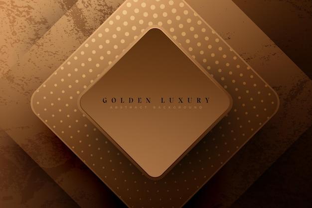 Concept de fond de luxe or