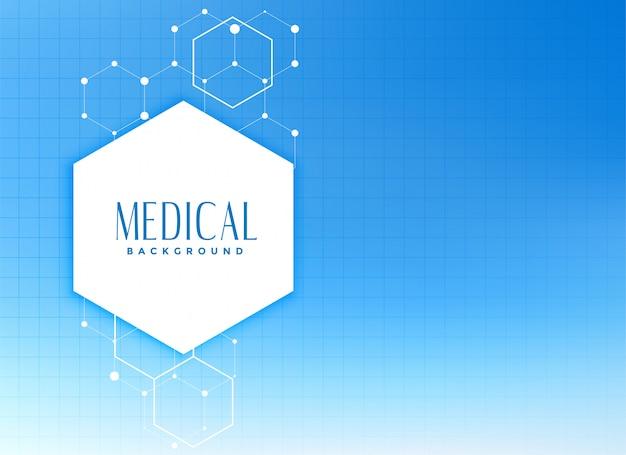 Concept de fond médical et de soins de santé