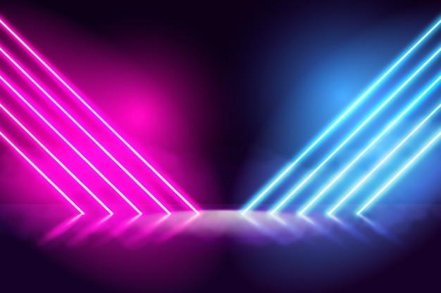 Concept de fond de néons