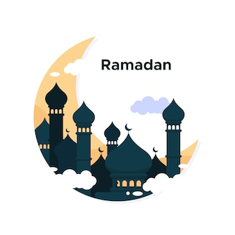 Concept de fond de ramadan
