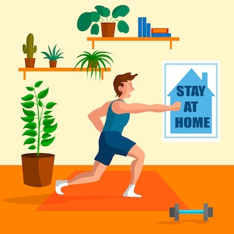 Concept de formation à domicile