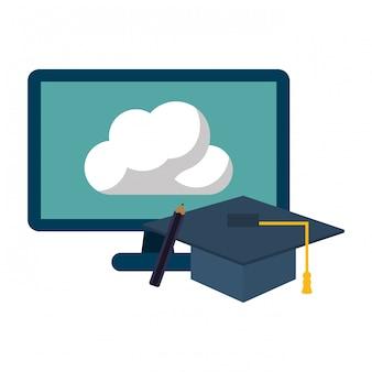 Concept de fournitures d'éducation