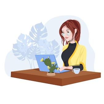 Concept de freelance ou de formation