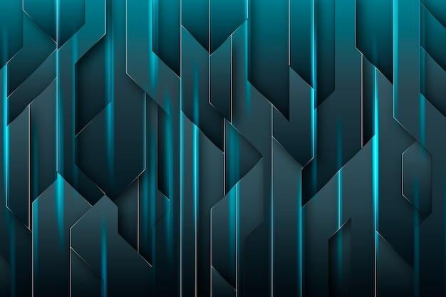 Concept futuriste abstrait pour papier peint