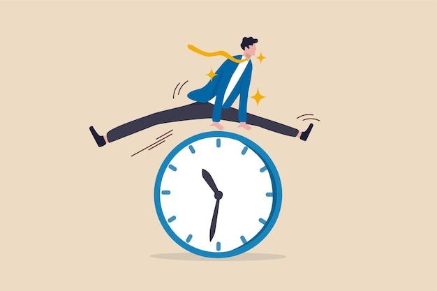 Concept de gestion du temps intelligent