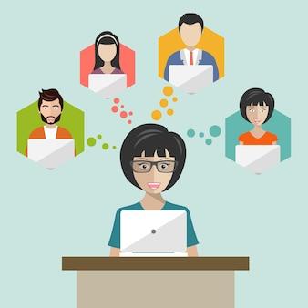 Concept global de partage de données