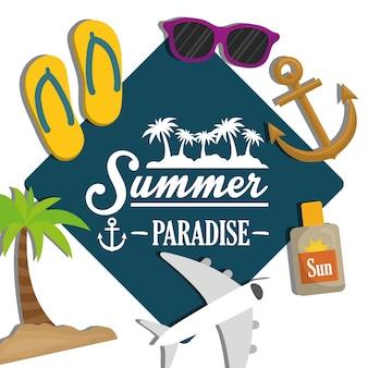 Concept d'heure d'été avec le design d'icône