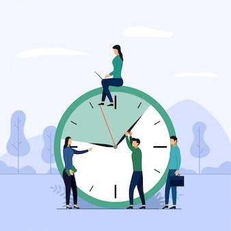 Concept d'horaire ou planificateur