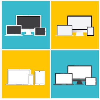 Concept d'icône de technologie numérique appareil