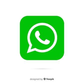 Concept d'icône whatsapp