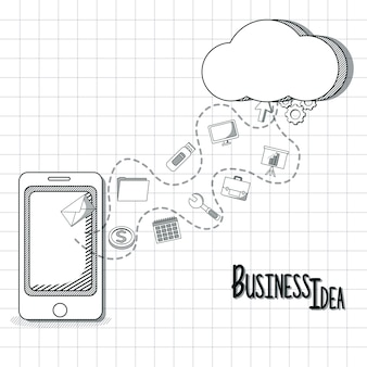 Concept d'idée d'entreprise