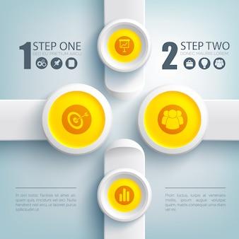 Concept d & # 39; infographie web business