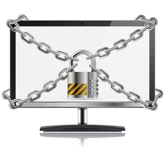Concept informatique sécurisé