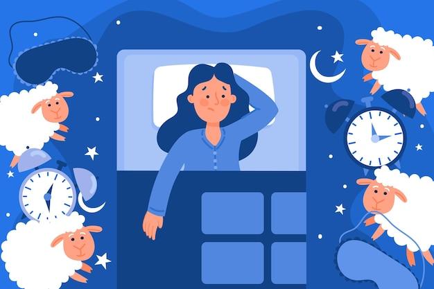Concept d'insomnie