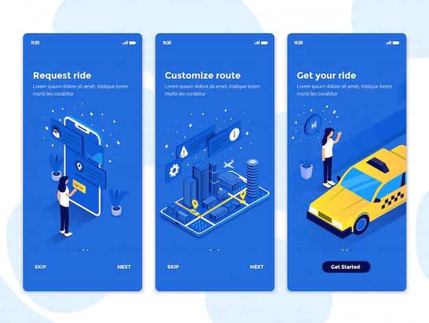 Concept d'intégration de design plat
