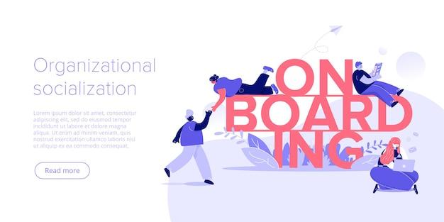 Concept d'intégration d'entreprise
