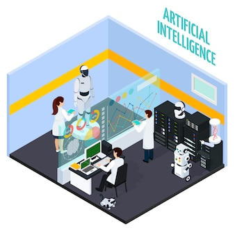 Concept d'intelligence artificielle