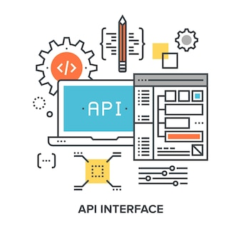 Concept d'interface api