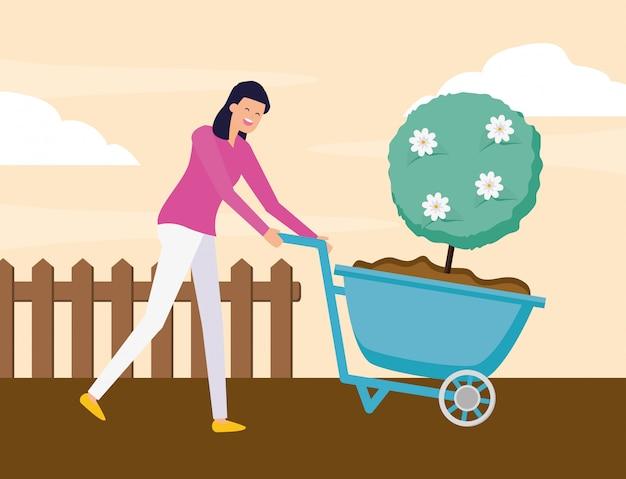 Concept de jardinage