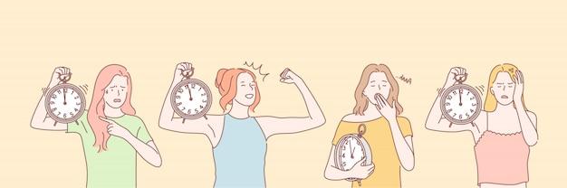 Concept de jeu de gestion du temps