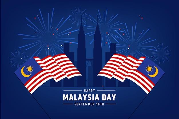 Concept de jour de malaisie