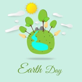 Concept de jour de la terre
