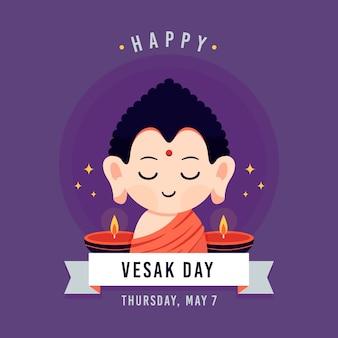 Concept de jour vesak