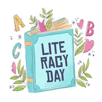 Concept de la journée internationale de l'alphabétisation
