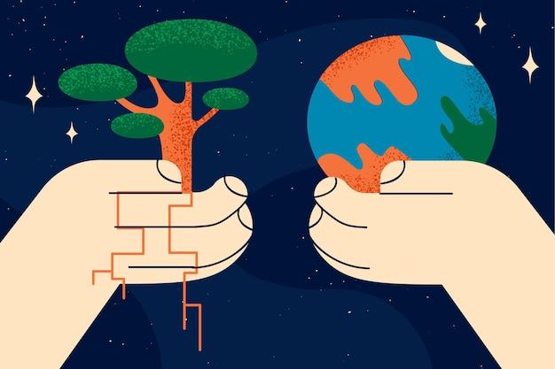 Concept de la journée internationale de la charité