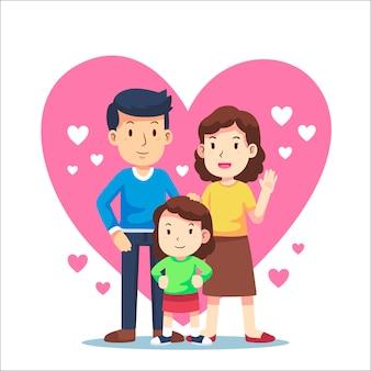 Concept de la journée internationale des familles