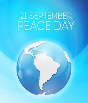 Concept de la journée internationale de la paix