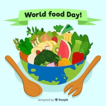 Concept de la journée mondiale de l'alimentation