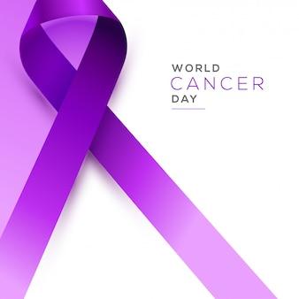 Concept de la journée mondiale contre le cancer.