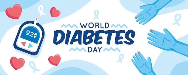 Concept de la journée mondiale du diabète