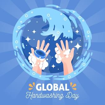 Concept de la journée mondiale du lavage des mains