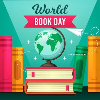Concept de la journée mondiale du livre