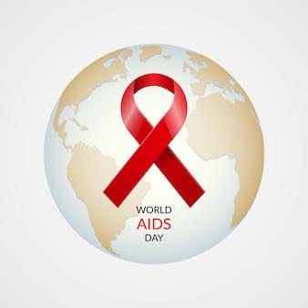 Concept de la journée mondiale du sida.