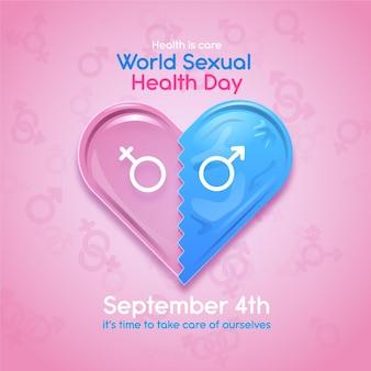 Concept de la journée mondiale de la santé sexuelle