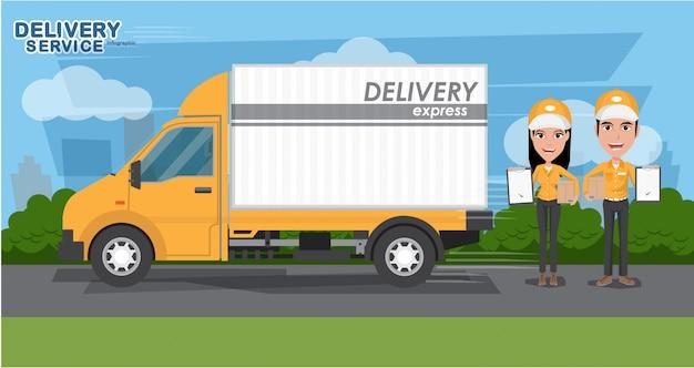 Concept de livraison