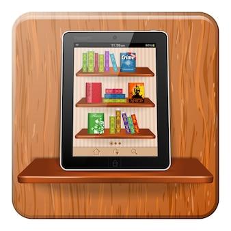 Concept de livre électronique
