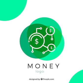 Concept de logo d'argent