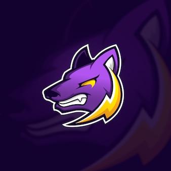 Concept de logo de mascotte