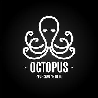 Concept de logo de poulpe