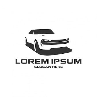 Concept de logo de voiture de sport, modèle de conception automobile
