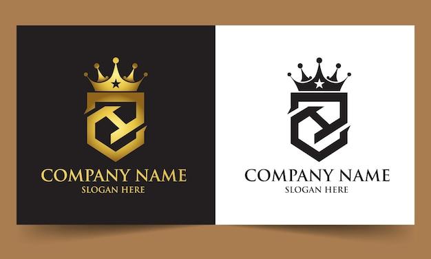 Concept de luxe lettre zh logo