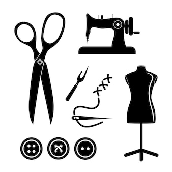 Concept de magasin de couture