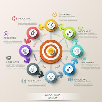 Concept de marketing d'entreprise