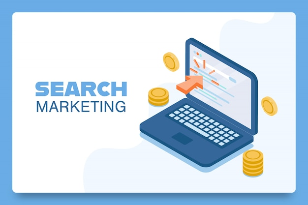 Concept de marketing de recherche