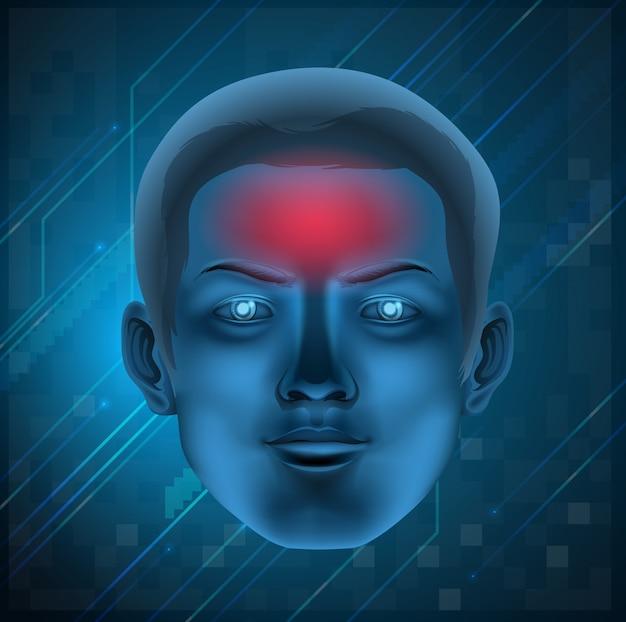 Concept de maux de tête