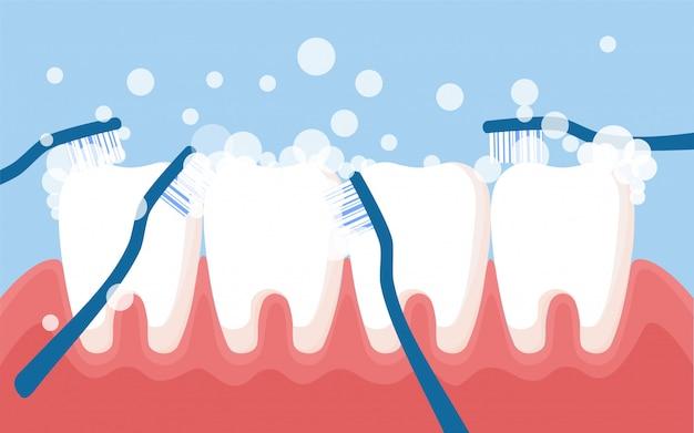 Concept médical de dentiste
